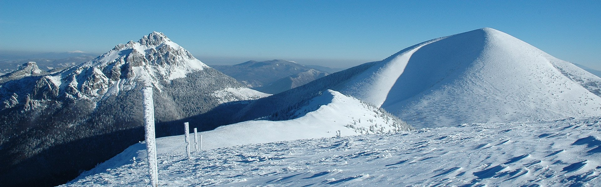 NATIONAL PARK MALA FATRA - BEST WINTER HIKING TRACKS IN SLOVAKIA